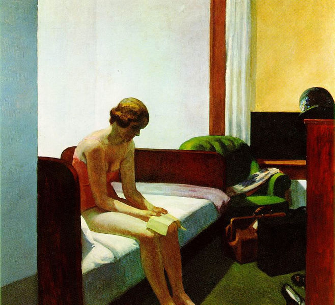 Edward Hopper - Hotel Room