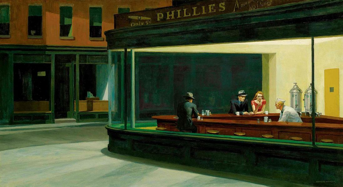 Edward Hopper -Nighthawks