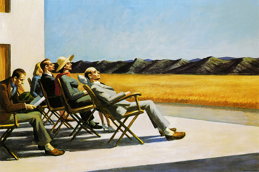 Edward Hopper - People In The Sun