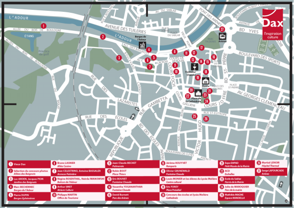 Festival de la photographie Dax 2014 - Plan