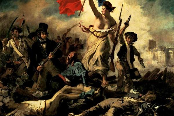Histoire Et Roman - La Liberte Guidant Le Peuple