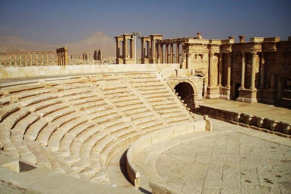 Le temps l'histoire et les femmes - Palmyre