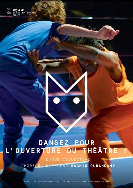 Dansez pour l'ouverture du théâtre