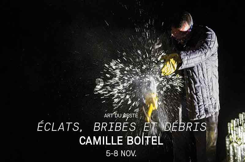 Eclats, brides et débris ©Yannick Bourdin