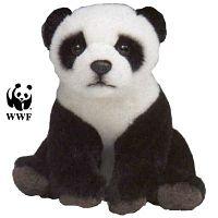 La liste de cadeaux de Noël Carnet d'Art - La peluche panda WWF