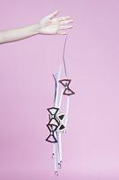 La liste de cadeaux de Noël Carnet d'Art - Les nœuds papillons en bois