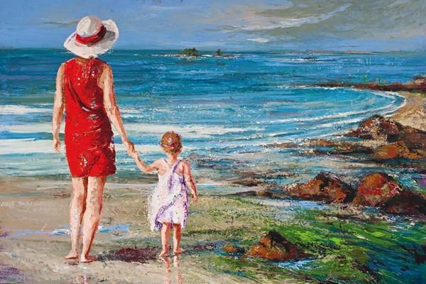 Patricia DEBUCHY - Dans la main de Maman
