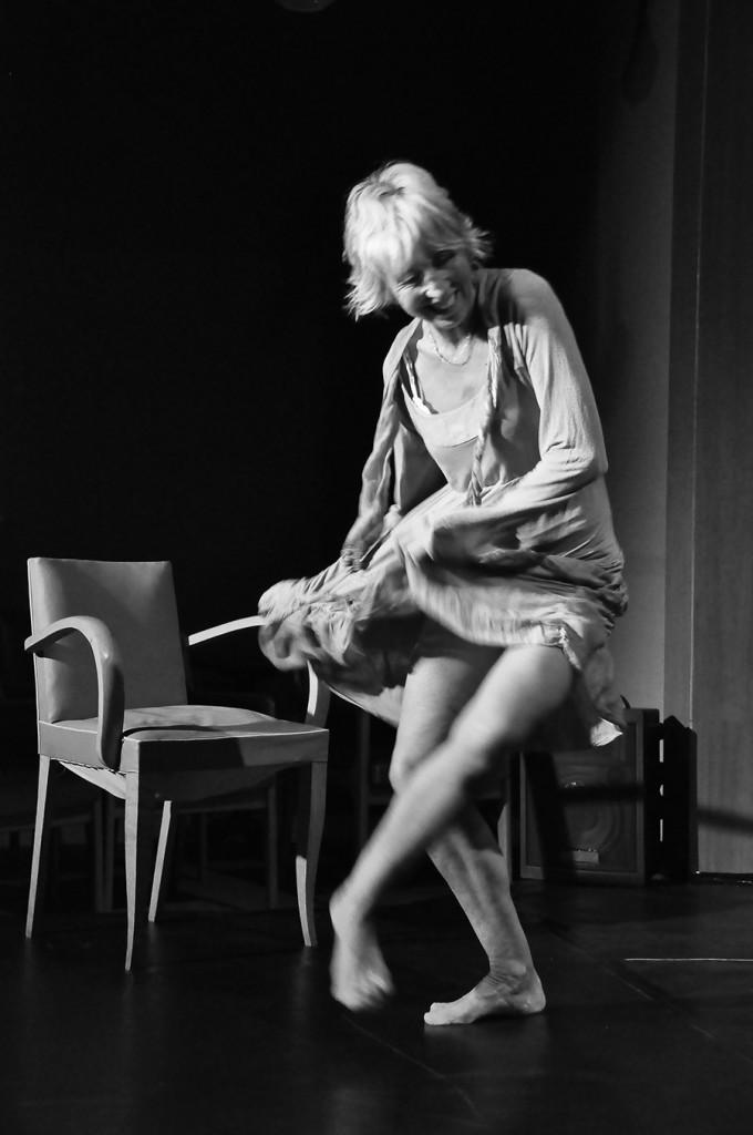 Martha Gey © Cie Écoute s'il danse