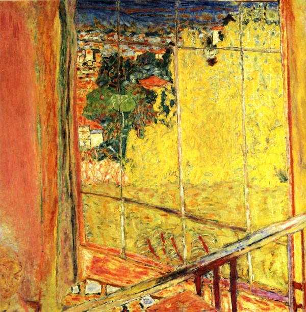 L'atelier aux mimosas de Pierre Bonnard