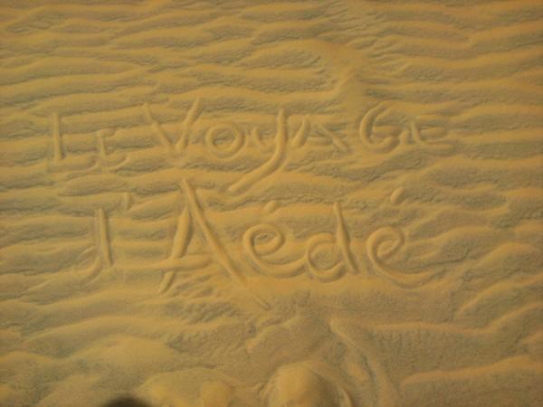 Le voyage d'Aédé (1)