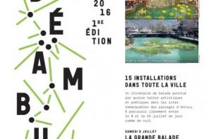 Déambule, un nouveau festival des paysages à Annecy