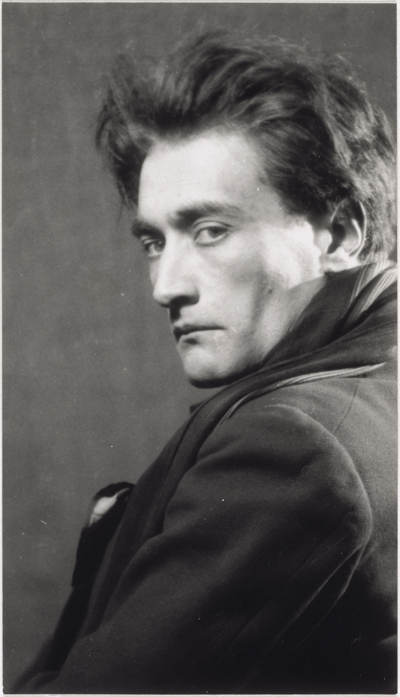 Man Rey, Antonin Artaud (détail) - 1926, Paris, Centre Pompidou