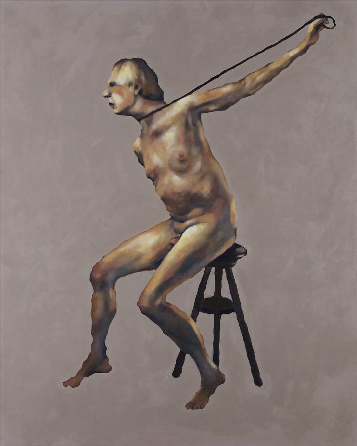 Louis Salkind - Forêt - huile sur toile - 162 x 130 cm