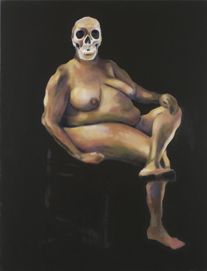 Louis Salkind - Nuit - huile sur toile - 146 x 97 cm