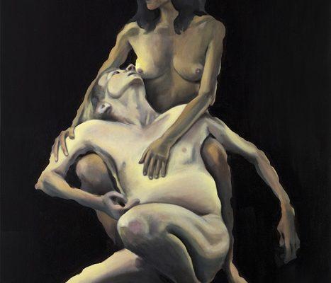 Louis Salkind - Sonate- huile sur toile - 146 x 114 cm