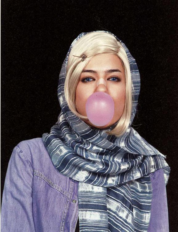 Shirin Aliabadi, Miss Hybrid (série), 2008. Courtesy The Third Line, Dubaï.