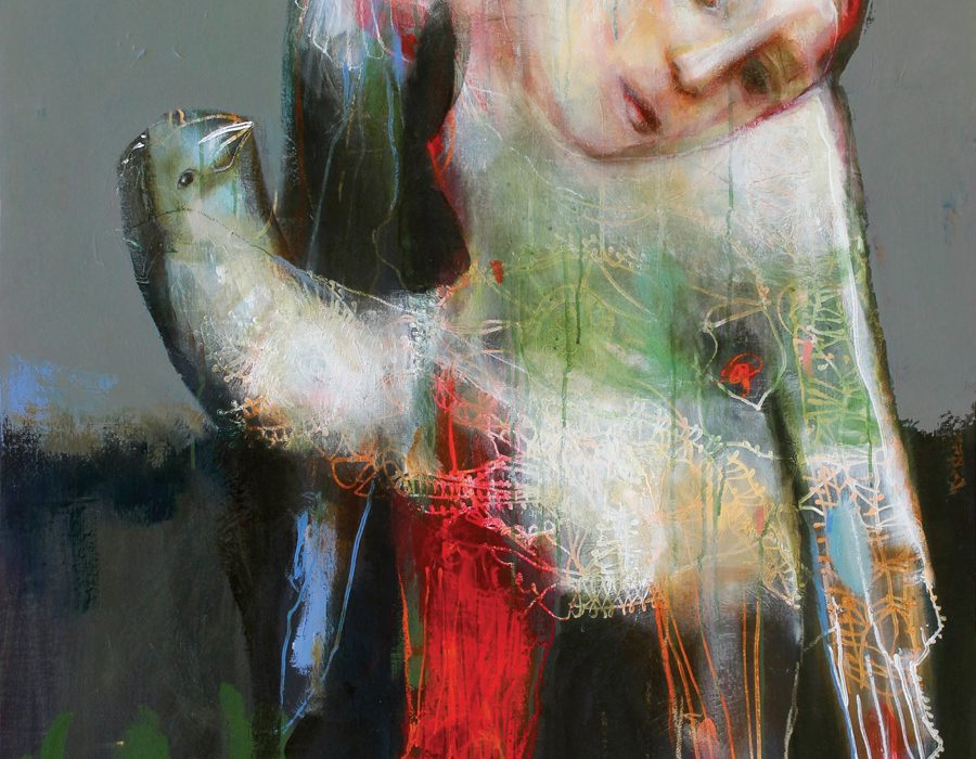 sylc-presence-iii-technique-mixte-sur-toile-130-x-97-cm