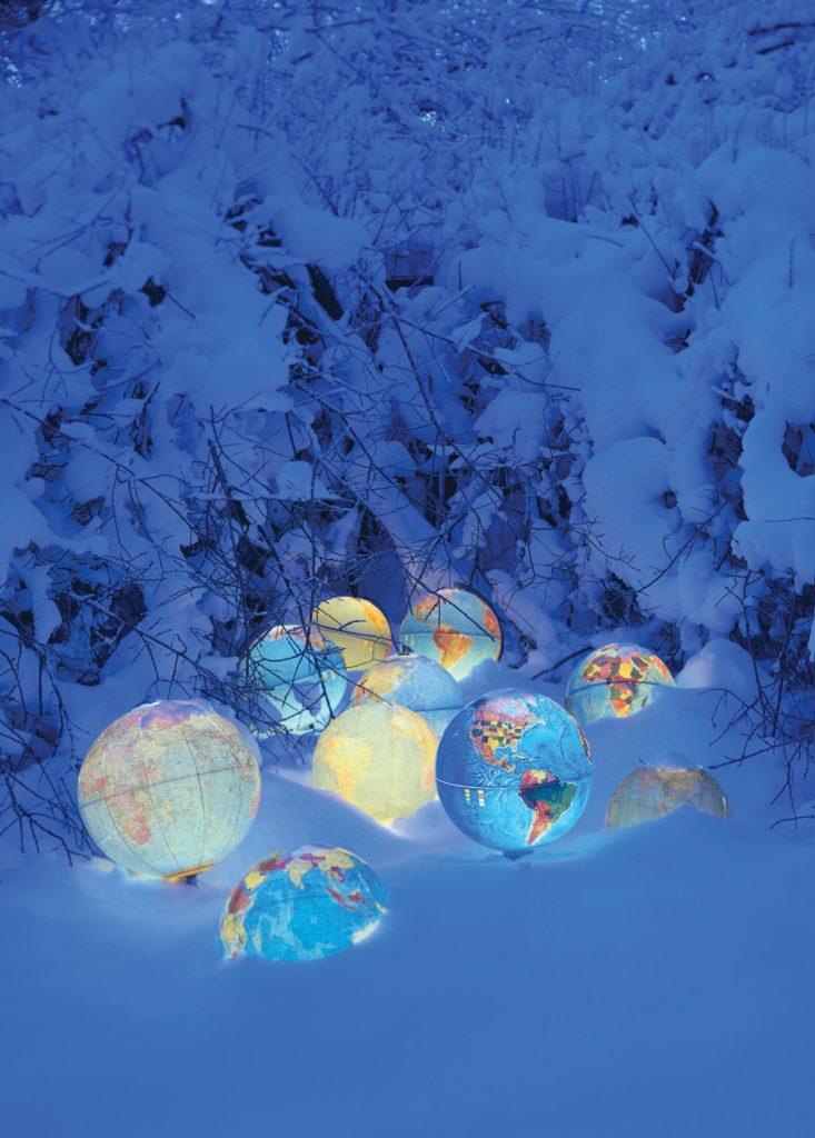 77 Winter of our Discontent © Rune Guneriussen - 125 x 94 cm, Courtesy Galerie Olivier Waltman.