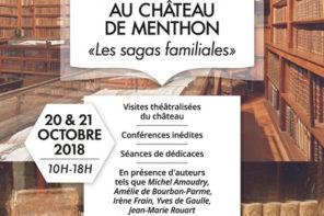 Rencontres littéraires au château de Menthon